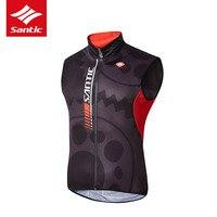 Santic Cycling Jacket 2017 New Arrival Sleeveless Tour De France Jacket Breathable Windproof MTB Road Bike