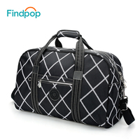 Findpop Large Capacity Travel Bags Waterproof Nylon Men Travel Luggage Bag Fashion Casual Ladies Hand Luggage
