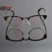 2015 EV Luxury Design Metal Alloy TR90 Frame For Women Men Leopard Tortoise Color Eyeglasses Frame