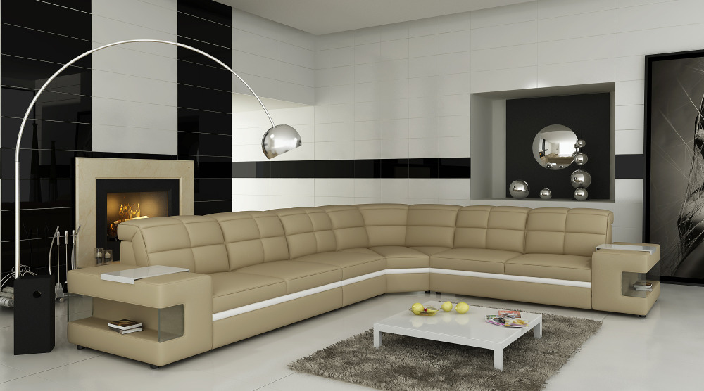 L Shape 2014 Hot Selling In Germany Modern Living Room Sofa Set Sectional 6132jpg