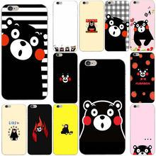 bf1054a471 Games Kumamon Danganronpa Monokuma Soft TPU Silicone Mobile Phone Cases for iphone  6 6S 7 8