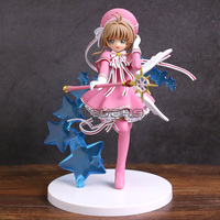 Card Captor Sakura Clear Card Kinomoto Sakura PVC Figure Collectible Model Toy