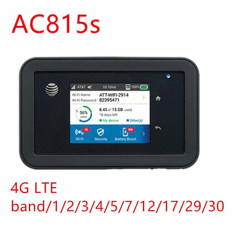 Unlocked Netgear Aircard 815 s AC815S AT & T Unite Verkennen Mobiele Hotspot 4340 mah otg kleine draagbare USB power bank Lading