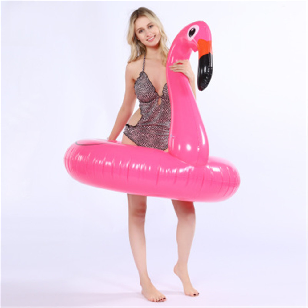 cosplay Inflatable Flamingo Pool Float Circle Mattress Swimming Swan Swim Ring Seat Boat Raft Summer for kids
