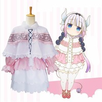 Miss Kobayashi S Dragon Maid Kanna Kamui Cosplay Costume For Women Kobayashi San Chi No Maid