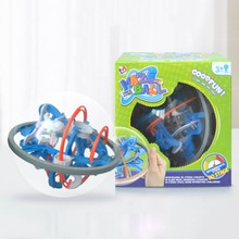 Playtoday Kids Magnetic Maze Toy 3D Maze Ball Funny Maze Kids Puzzle Game Toys Early Education childhood games