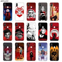 BinFul phone case Transparent Hard cover for Xiaomi mi Redmi Note 7 5 4 3 4X 5A 6 Pro 64g S2 Plus Chilling Adventures Sabrina