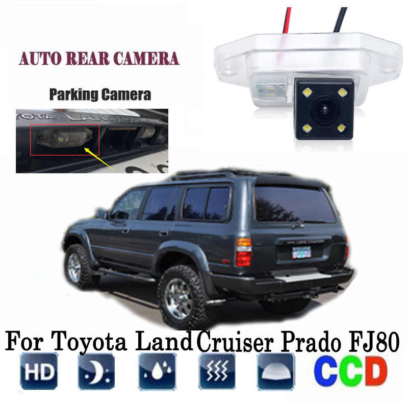 Rear View Camera For Toyota Land Cruiser Prado FJ80 CCD