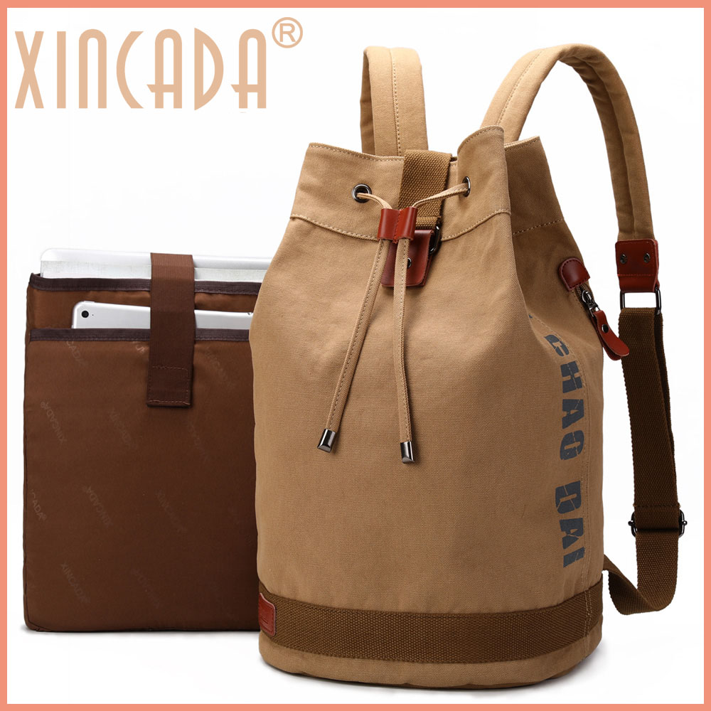 XINCADA Female backpack teenage preppy women bolsas mochila rucksack 2019 canvas extra large laptop 15.6 for trips men