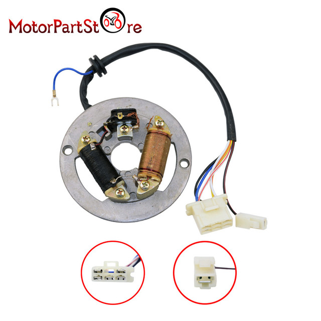 ignition stator magneto assembly for yamaha pw80 pw 80 peewee py80 rh aliexpress com Yamaha ATV Wiring Diagram Yamaha Outboard Wiring Diagram