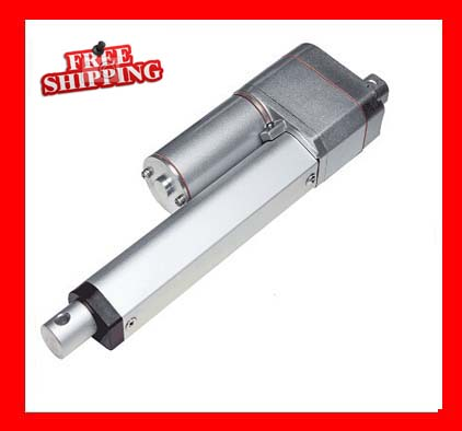 12V / 24V DC Stroke 550mm / 22inch, Linear Actuator 1000N / 225LBS Load, Feedback Position Potentiometer Free Shipping free shipping 12v or 24v 4inch stroke 1000n force linear actuator with feedback made in china