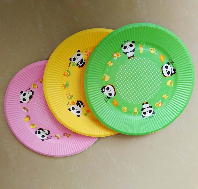 7inch High quality disposable paper plate cute beer dish plates export Japan Children birthday party supplier & 7inch High quality disposable paper plate cute beer dish plates ...
