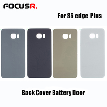FOCUSR. For SAMSUNG Galaxy S6 edge plus G928 Back Battery Cover Door Rear Glass Housing Case Replace Battery Cover replacement цена и фото