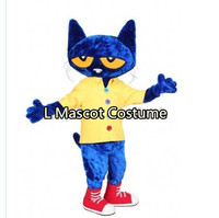 Persian cat mascot clothing make up animal Christmas Halloween comic clothes, free shipping, factory direct