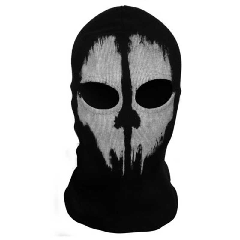 4 Stlyes Motorcycle Ghost Face Mask Skull Balaclava Cycling Full Face Airsoft Game Cosplay Mask For Outdoor Sports
