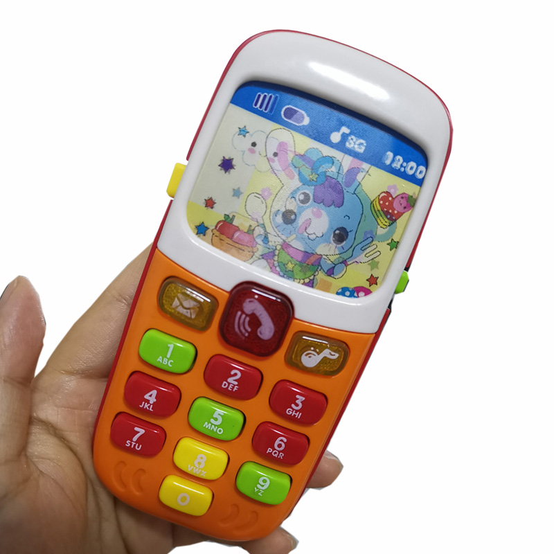 Music Electronic Toy Children Mobile Phone Cellphone Telephone Educational Learning Toys Baby Musical Phone Gifts For Kids