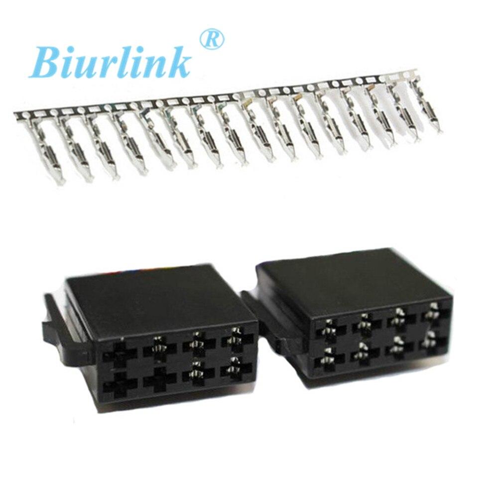 Мини-клеммный блок Biurlink, 8-контактный разъем для кабеля