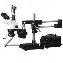 Stereo Boom font b Microscope b font AmScope Supplies 3 5X 90X Stereo Boom font b