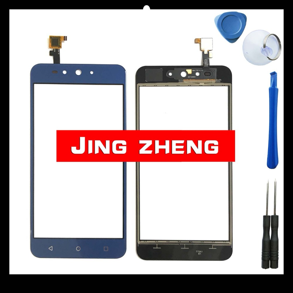 JingZheng Touchscreen Glass For DEXP Ixion Z155 Touch Smartphone touch screen add tool