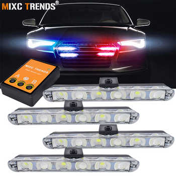 4x6 Led Ambulance Police Light DC 12V Car Light Flashing Firemen Emergency Lights DRL Day Running Flasher Strobe Warning Light - DISCOUNT ITEM  41% OFF All Category