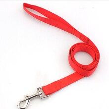 цена Pet dog leash nylon Leash for dog 7 Colors 120cm Walking Training Leash Small Dogs Cats Dogs Harness Collar Leash Strap Belts в интернет-магазинах