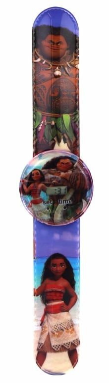 Children's Watches Cartoon Cute Moana Style Childrens Watches Kids Students Girls Quartz Leather Strap Wrist Watch Jc37
