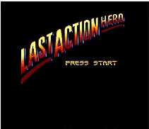 Last Action Hero  - Peacock King - Rampage Edition - 16 bit MD Games Cartridge For MegaDrive Genesis console