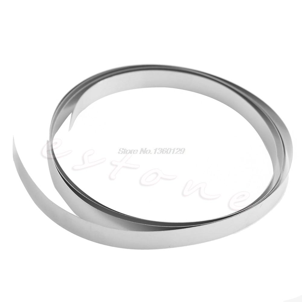 Ni Plated Nickel Strip Tape 1M 8mm X 0.15 For Li 18650 Battery Spot Welding Wholesale&DropShip