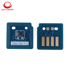 106R01573 106R01570 106R01571 106R01572 Toner Chip for xerox Phaser 7800 Reset Cartridge South America Eastern Europe