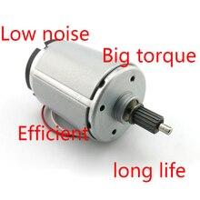 купить 545 motor/ DIY model toy motor/ generator / Mute / High torque DC 12V 24V дешево