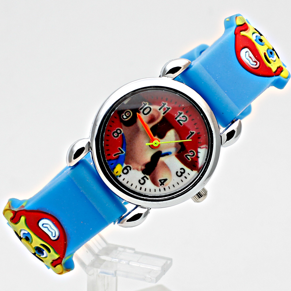 3D siliconen Cartoon Horloge Kinderen Sport Horloge Mode Jongens - Kinderhorloges - Foto 2