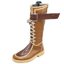 Eiyuu Densetsu Sen no Kisek Cosplay Rean Schwarzer shoes shoe boot Mens boots High Quality Leather Custom