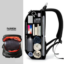 купить Fashion Male Travel Daypack Laptop Backpack Men Multifunction Waterproof School Student Backpack Anti theft Backpack Women дешево