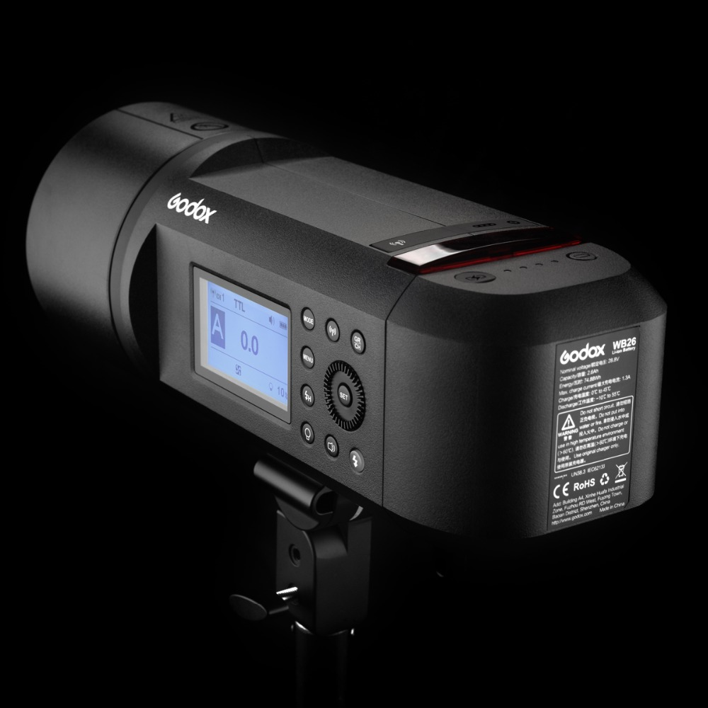 Madison : Godox ad600 battery