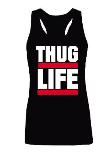 Бандит жизни 2 PAC женщин популярные : майка нью-хип-хоп рэп забавный девушки летом стиль дамы мода синглетный жилет