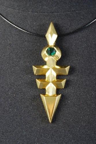 Yu-Gi-Oh Zexal Yuma Tsukumo Ou no Kagi Emperor's Key Cosplay Necklace Pendant