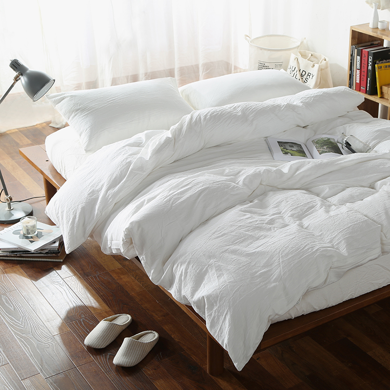 a pure bedding satin bag the color idea solid ideas setsbrief most sets comforter white in queen bed incredible silk