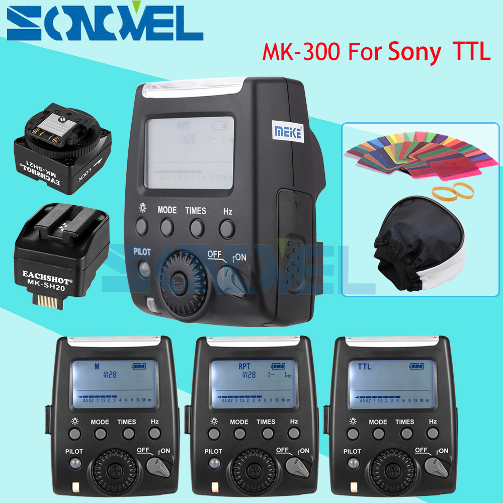 Meike MK-300 MK-300S LCD TTL Speedlite Flash Light For Sony NEX3 NEX5 NEX6 A9 A7 A7RII A7S A6000 A6300 A6500 A33 A55 A58 A77 A99 mirror design bluetooth speaker wireless mini alarm clock speaker car subwoofer potable wireless speaker support tf card