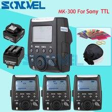 をマイクスmk MK 300S液晶ttlスピードライトフラッシュライト用ソニーnex3 nex5 nex6 a9 a7 A7RII a7s a6000 A6300 a6500 a33 a55 a58 a77 a99