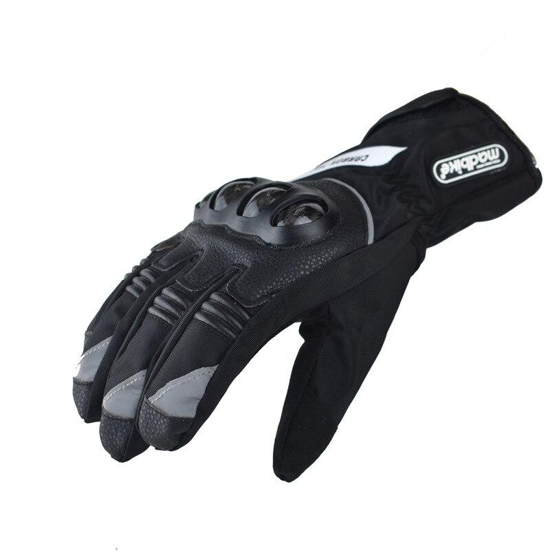 US $24.15 31% OFF|Moto Motorrad Handschuhe Männer Carbon Fibre Schutzhülle Lange GP PRO Motocross Motorrad Handschuh Bike Schützen Getriebe Radfahren