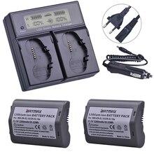 2 шт. 3200 мА/ч, EN-EL18, EN-EL18a, EN EL18, ENEL18a Батарея + ЖК-дисплей двойная быстрая смарт-зарядка для Nikon D4, D4S, D5 для зеркальной однообъективной камеры Камера