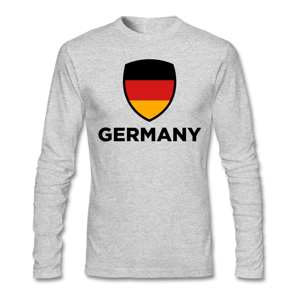 Big Size National Flag of Germany Men Male Base Tee Shirt font b Geek b font