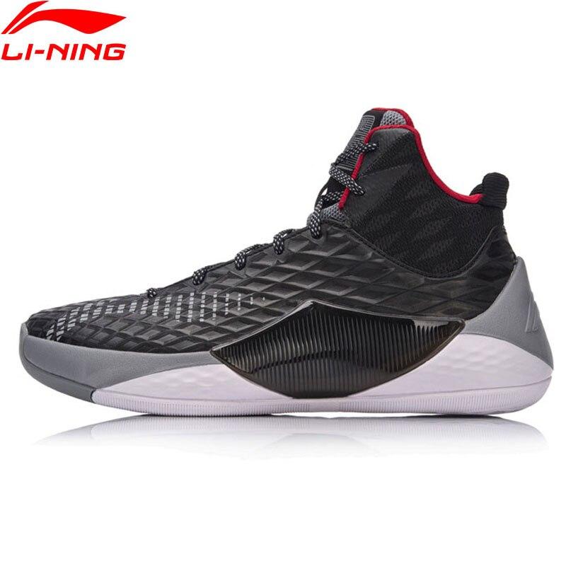 Li-Ning Мужская обувь тень Walker 2018 Баскетбольные кеды Li Ning Облако ТПУ Поддержка Спортивная обувь моно Пряжа спортивные Обувь aban019