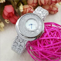 Free Shipping Relojes Mujer 2017 Newborn Luxury Brand Swan Design Natural Rhinestone Women Dress Ceramic Quartz