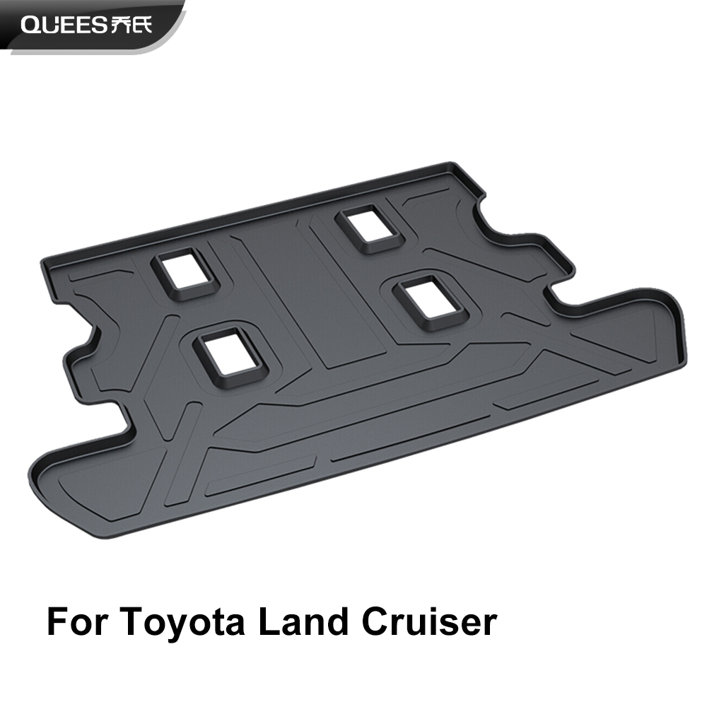 QUEES Custom Fit Cargo Liner for Toyota Land Cruiser J200 5 Seaters Only 2008 2009 2010