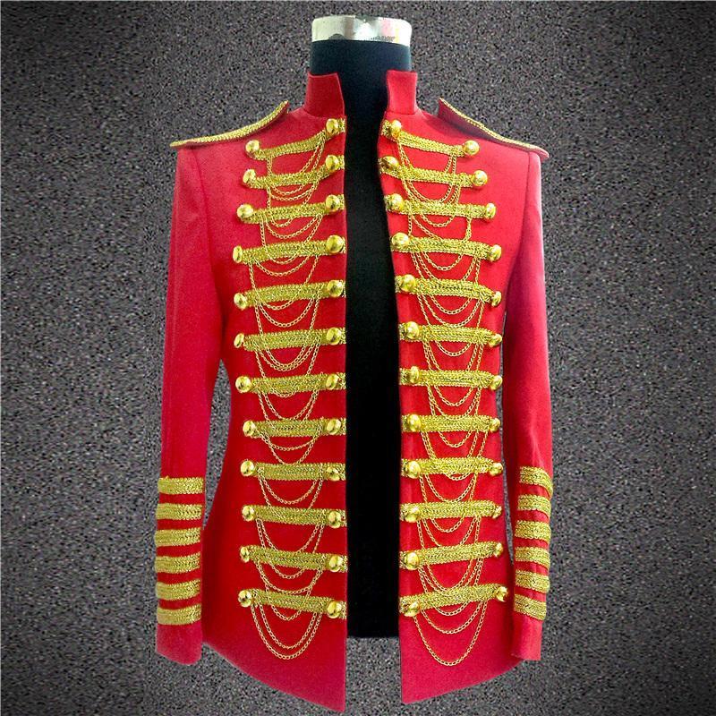 Mode Royal Kostymer för män DJ Show Stage Performance Wear Clubwear - Herrkläder