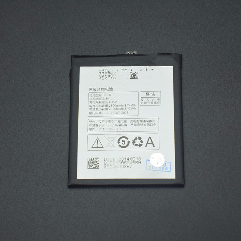For Lenovo X2 Battery Replacement 2230-2300Mah Li-ion BL231 Battery Replacement For Lenovo VIBE X2 Lenovo S90 S90u In stock