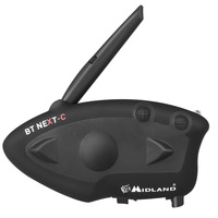 MIDLAND BT следующий Универсальный мотоциклетный шлем Интерком Водонепроницаемый Беспроводной гарнитура Bluetooth Intercomunicador Moto переговорные FM