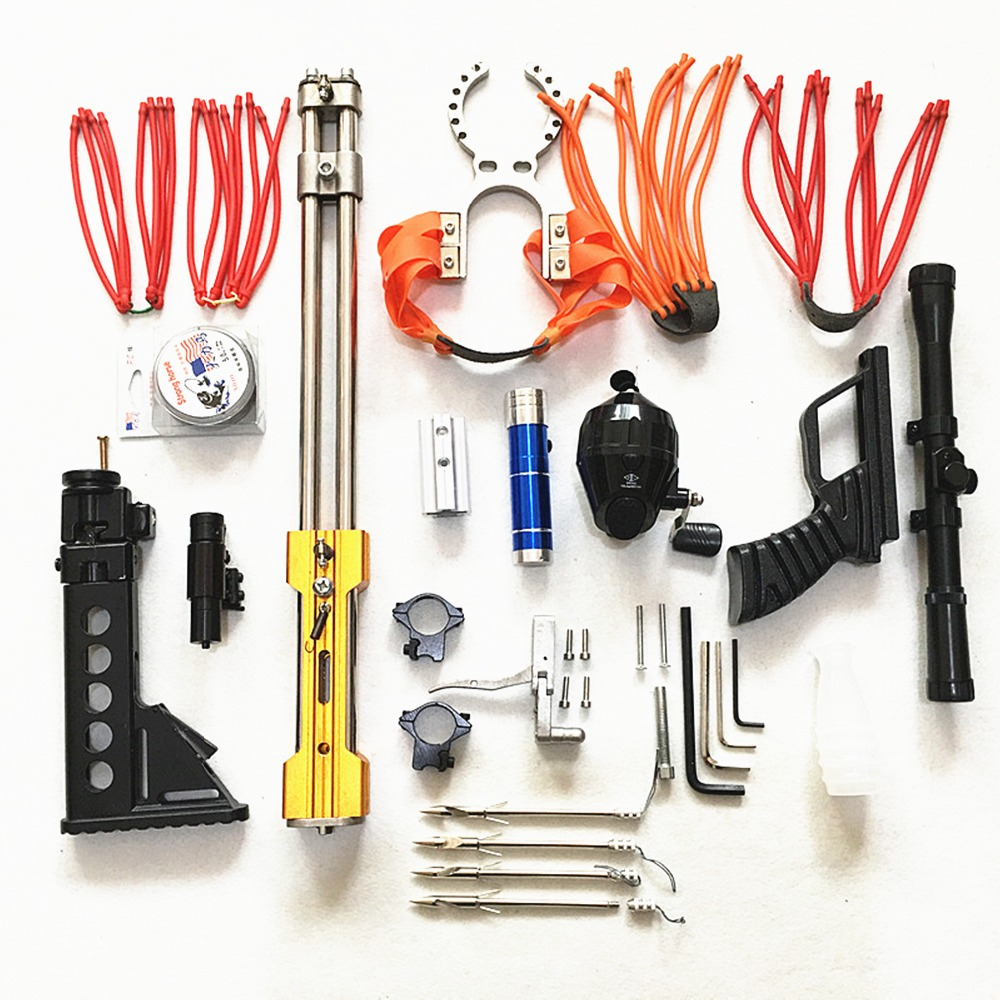 304 Stainless Steel Polishing Treatment Diy Kits Slingshot Mechanical Slip Slingshot Hunting Catapult Diy 100% High Quality Materials Back To Search Resultssports & Entertainment Bow & Arrow