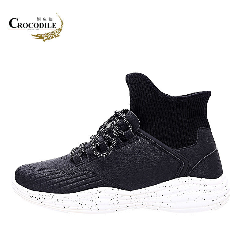 Crocodile Men Themal Sneakers Shoes Young Men Walking Shoes Luxury Brand Black High Top Flats Shoes Men Boot Chaussure Homme sneakers men casual shoes red bottoms shoes for men sneakers high top leather shoes men flats chaussure homme zapatos hombre